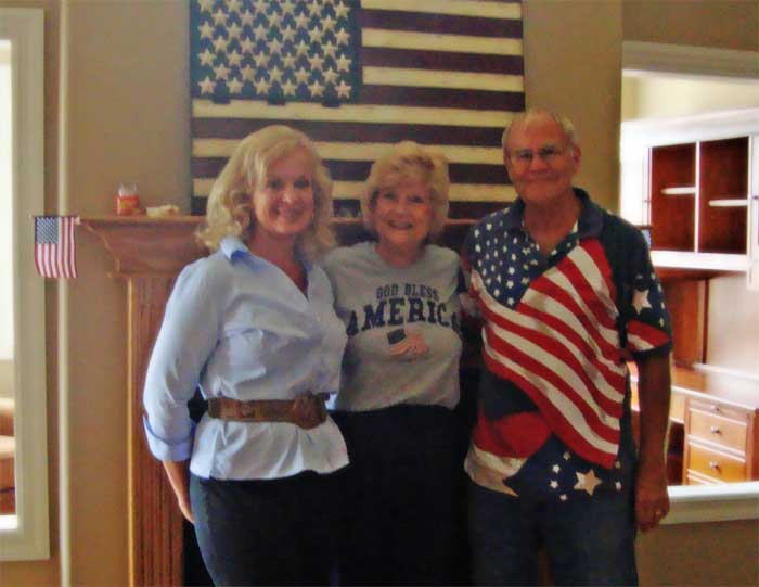 Gail and Jerry and friend Dale Coons
