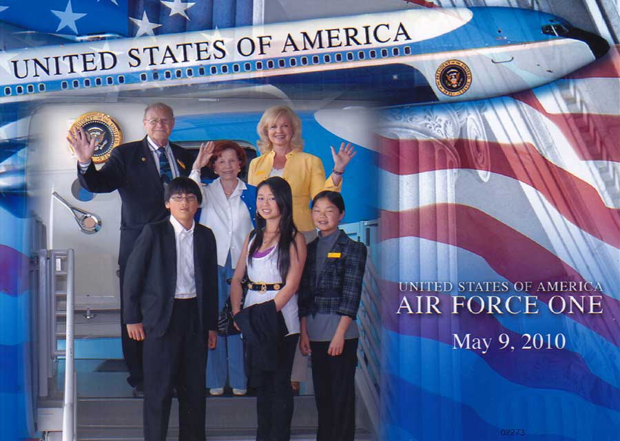 Mother's Day 2010 at Ronald Reagan Library