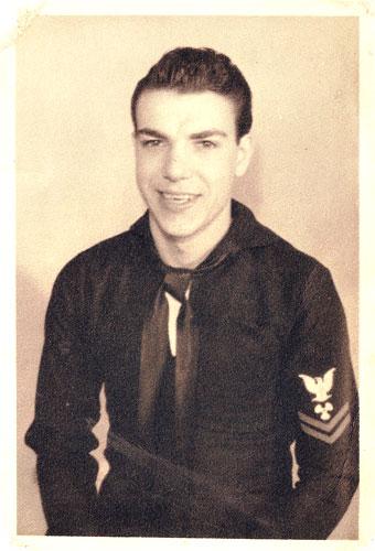Joe Ferrara, U.S. Navy (1942)