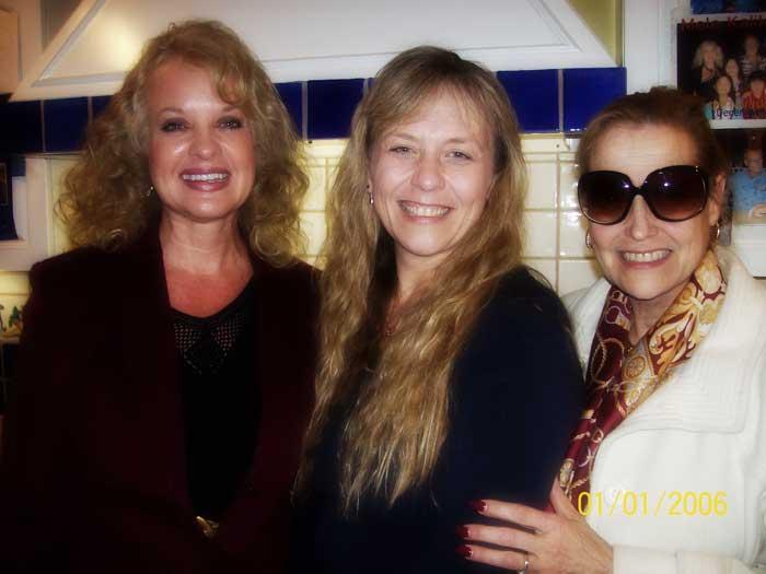 Gail Nordskog and Lili Baehr with Debbie Holmes