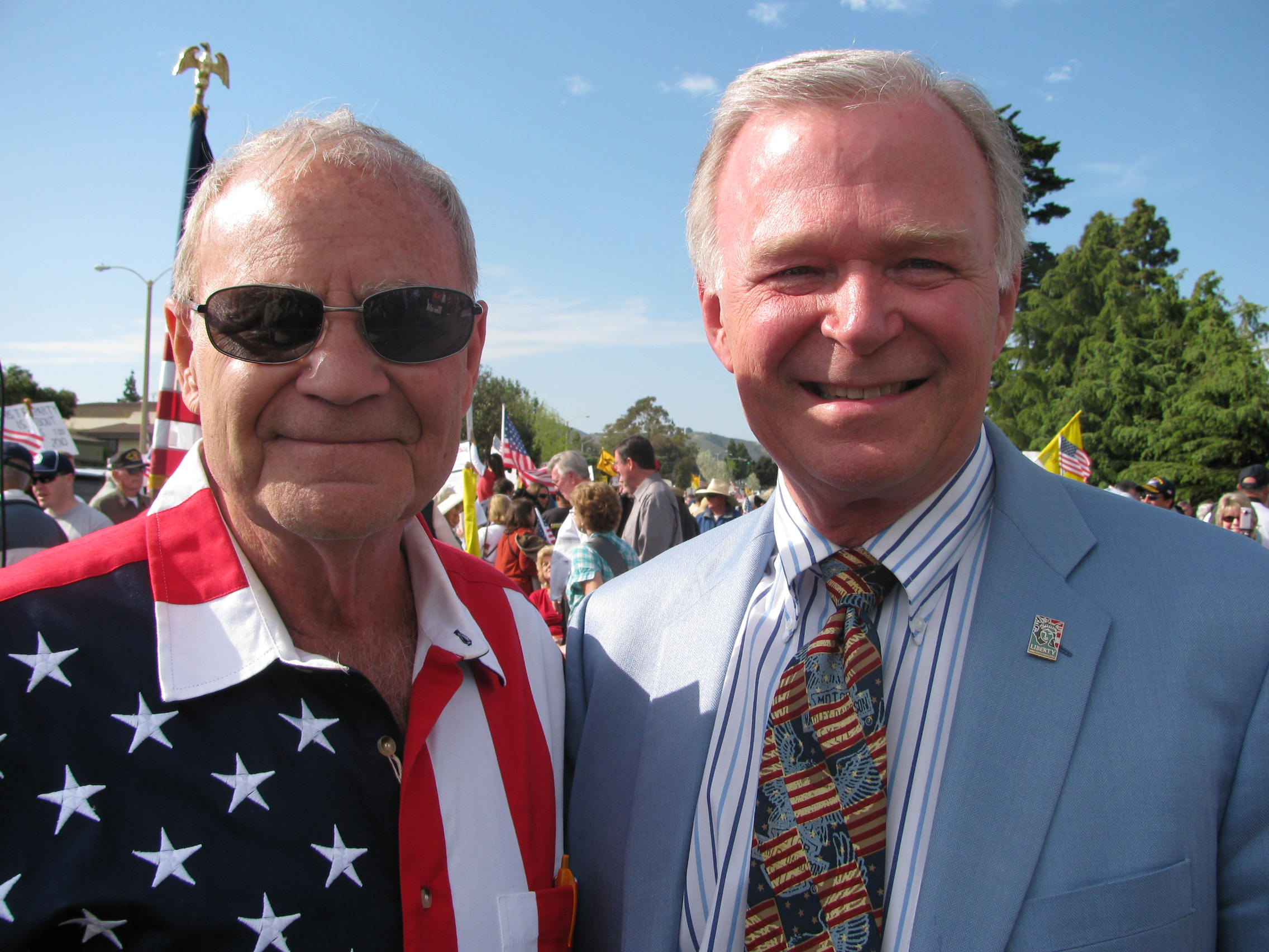 Jerry and speaker-columnist Terry Paulson