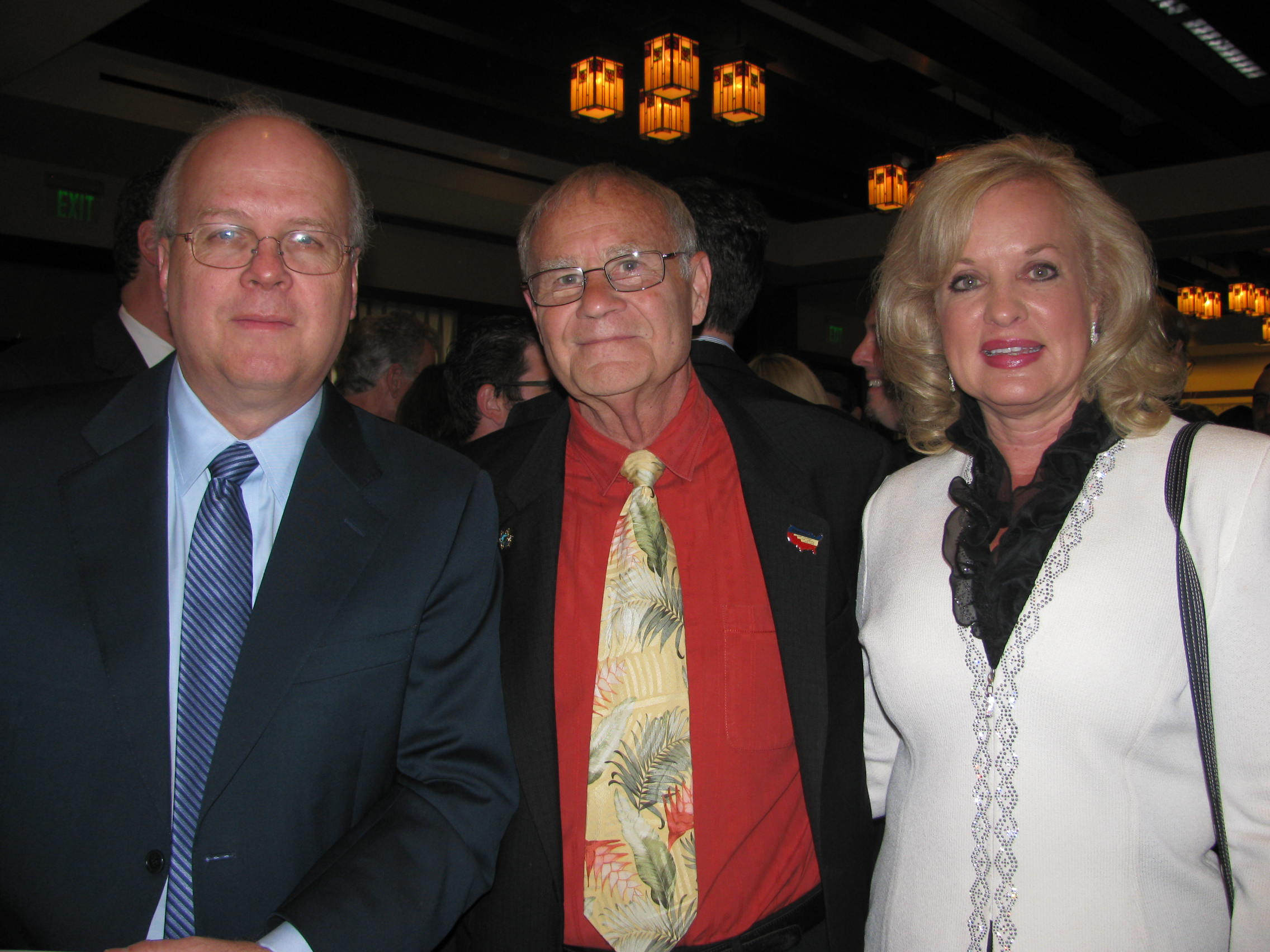The architect Karl Rove with Nordskog's