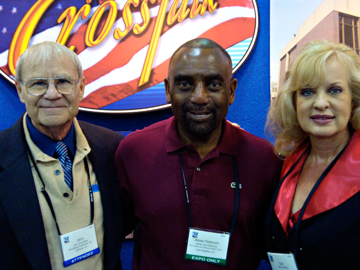 Jerry & Gail with Jesse Lee Peterson