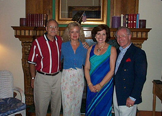 Jerry and Gail with Chuck and Kathy Crismier