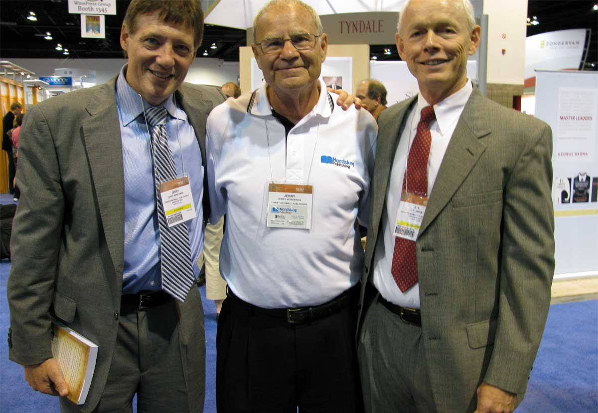 Jerry with JY Jones and Jerry Newcombe at ICRS 2009