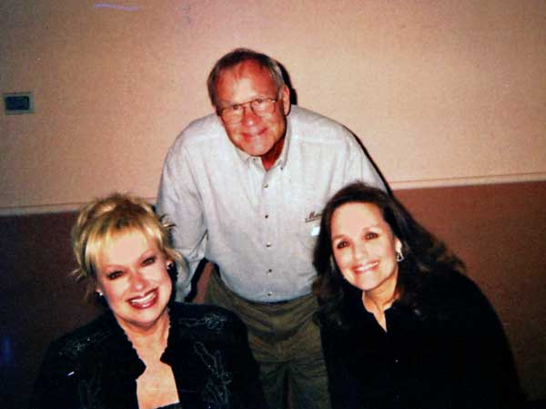 Jerry with the Lennon Sisters