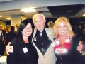 Gail and Lynare with Chuck Bednarik