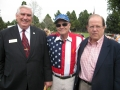 Ventura City Councilman Neil Andrews, and Dr. Ted Baehr, founder of Movieguide, join Jerry