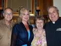 Gail & Jerry with  Father Tom Foster and Audrey
