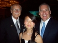 Jerry & Hannah with Peter Foy